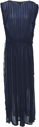 Vix Paula Hermanny Bead-embellished Cotton-gauze Coverup