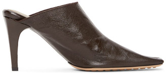 Bottega Veneta Brown Crunch Heels