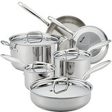 Breville Thermal ProTM Clad 10-Piece Stainless Steel Cookware Set