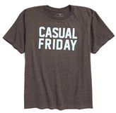 Kid Dangerous Boy's Casual Friday Graphic T-Shirt