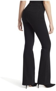 Jessica Simpson Adored Hi Rise Flare Clean Hem Jeans