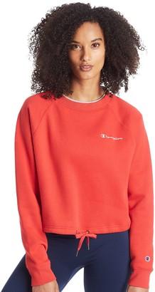 Champion Women's Campus Fleece Crop Sweatshirt