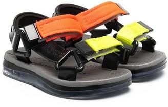 Mini Melissa Touch-Strap Sandals