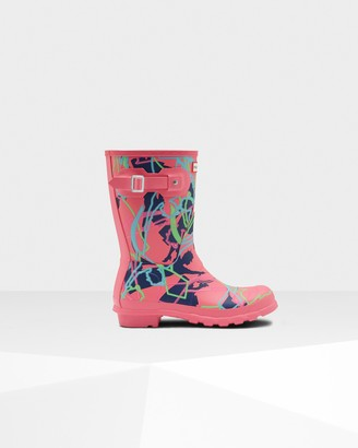Hunter Women's Original Disney Print Short Rain Boots