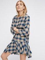 Drop It Low Plaid Mini Dress by Free People x CP Shades