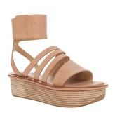 Max Studio Jaime- Leather Ankle Cuff Flatform