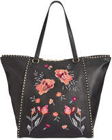 INC International Concepts I.n.c. Hazell Floral Extra-Large Tote, Created for Macy's