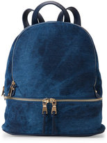 Urban Expressions Navy Monty Denim Backpack
