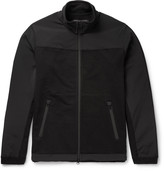 Reigning Champ Crepe-Panelled Cotton-Jersey Jacket