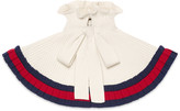 Gucci Knit wool capelet