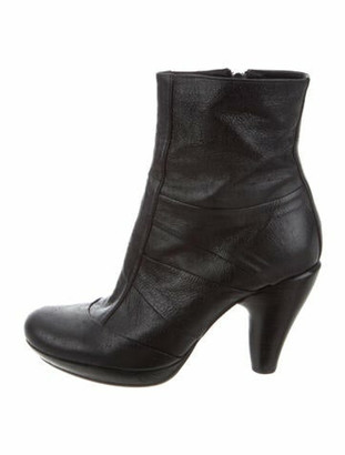 Chie Mihara Leather Boots w/ Tags Black
