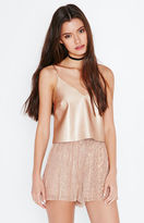 KENDALL + KYLIE Kendall & Kylie Faux Leather Cami Tank Top