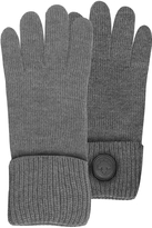 DSQUARED2 Cable Knit Wool Men's Gloves