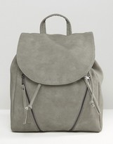 Pieces Backpack With Zip Detail