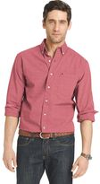Izod Men's Signature Classic-Fit Poplin Button-Down Shirt