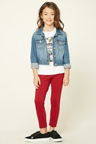 Forever 21 Girls Skinny-Fit Pants (Kids)