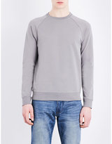 Armani Jeans Embossed-logo Jersey Sweatshirt