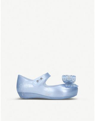 Mini Melissa Disney Frozen snowflake-bow maryjane flats 6 months-5 years