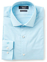 Original Penguin Heritage Slim-Fit Spread-Collar Slub Pattern Dress Shirt