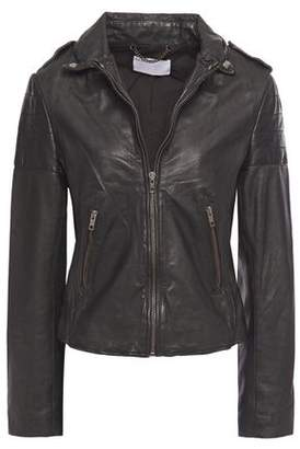 Muu Baa Muubaa Presley Leather Biker Jacket