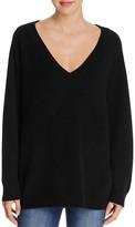 Alexander Wang Cashmere-Wool Birdseye Sweater