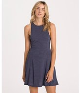 Billabong Women's Dream on High Neck Stripe Skater Dress