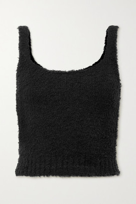 SKIMS Cozy Knit Boucle Tank - Onyx