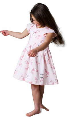 TINY TRIBE Kids' Blossom & Bloom Dress