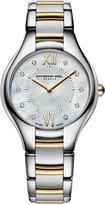 Raymond Weil Women's Swiss Noemia Diamond Accent Two-Tone Stainless Steel Bracelet Watch 32mm 5132-STP-00985
