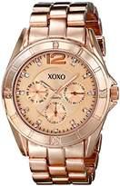 XOXO Women's XO5656 Rose Gold-Tone Bracelet Analog Watch