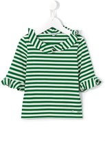 Simonetta striped top - kids - Cotton - 12 yrs