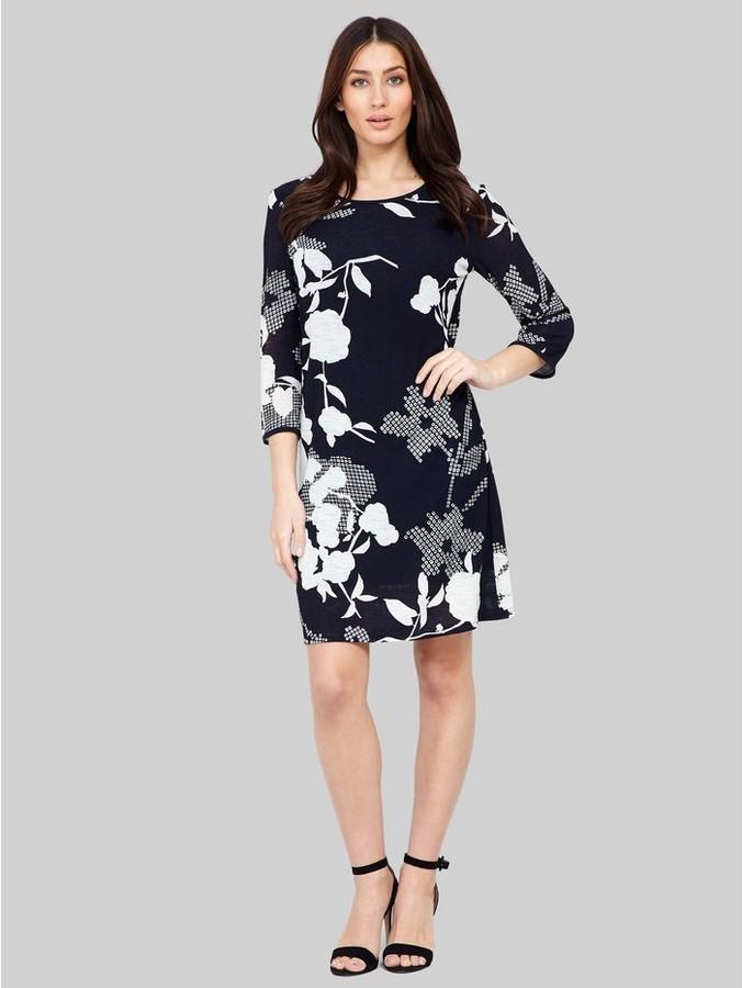 M&Co Izabel floral print shift dress