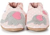 Robeez Baby Girls Little Peanut Soft Sole Crib Shoes