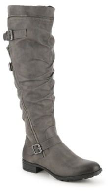 White Mountain Roxy Wide Calf Riding Boot