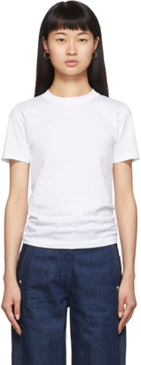 Acne Studios White Cotton T-Shirt