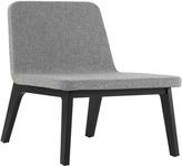 Houseology addinterior LEAN Chair Grey - Black Oak Legs & Black Cushion