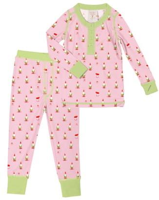 Munki Munki Gnomes Fitted Two-Piece Pajamas