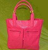 Neiman Marcus 2014 Exclusive Pink Faux Croc Tote Bag (Color: PINK) - one bag Only