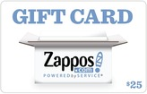 Zappos Gift Cards B2C Zappos $25 Gift Card
