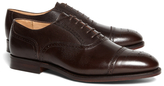 Brooks Brothers Peal & Co.® Pebble Leather Perforated Captoes