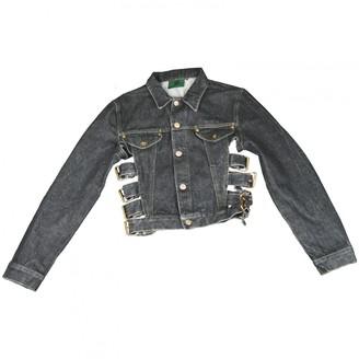 Jean Paul Gaultier Grey Cotton Jacket for Women Vintage