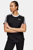 adidas Womens Black Boyfriend T-Shirt By Black