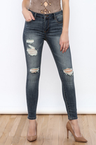 Cello Jeans Mid-Rise Ankle Skinny