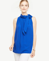 Ann Taylor Home Tops + Blouses Tie Neck Halter Shell Tie Neck Halter Shell
