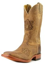 Nocona Men's Auburn 12 Branded Men Square Toe Leather Western Boot.