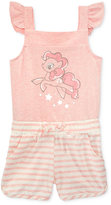 My Little Pony Graphic-Print Romper, Toddler and Little Girls (2T-6X)