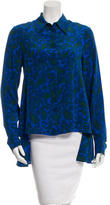 Stella McCartney Silk Paisley Print Top