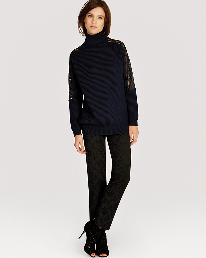 Karen Millen Sweater - Chunky Knit Lace Collection