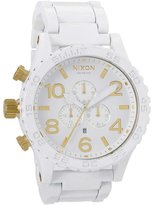 Nixon A0831035-00 51mm Steel Bracelet & Case Mineral Men's Watch