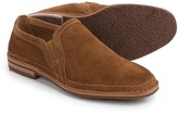 Trask Blaine Perforated Shoes - Suede, Slip-Ons (For Men)